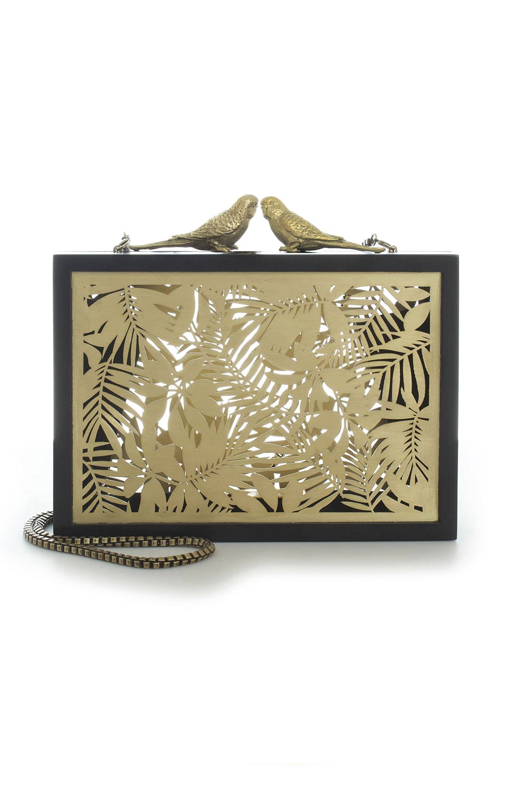 SARAH'S BAG FOLIAGE BLACK