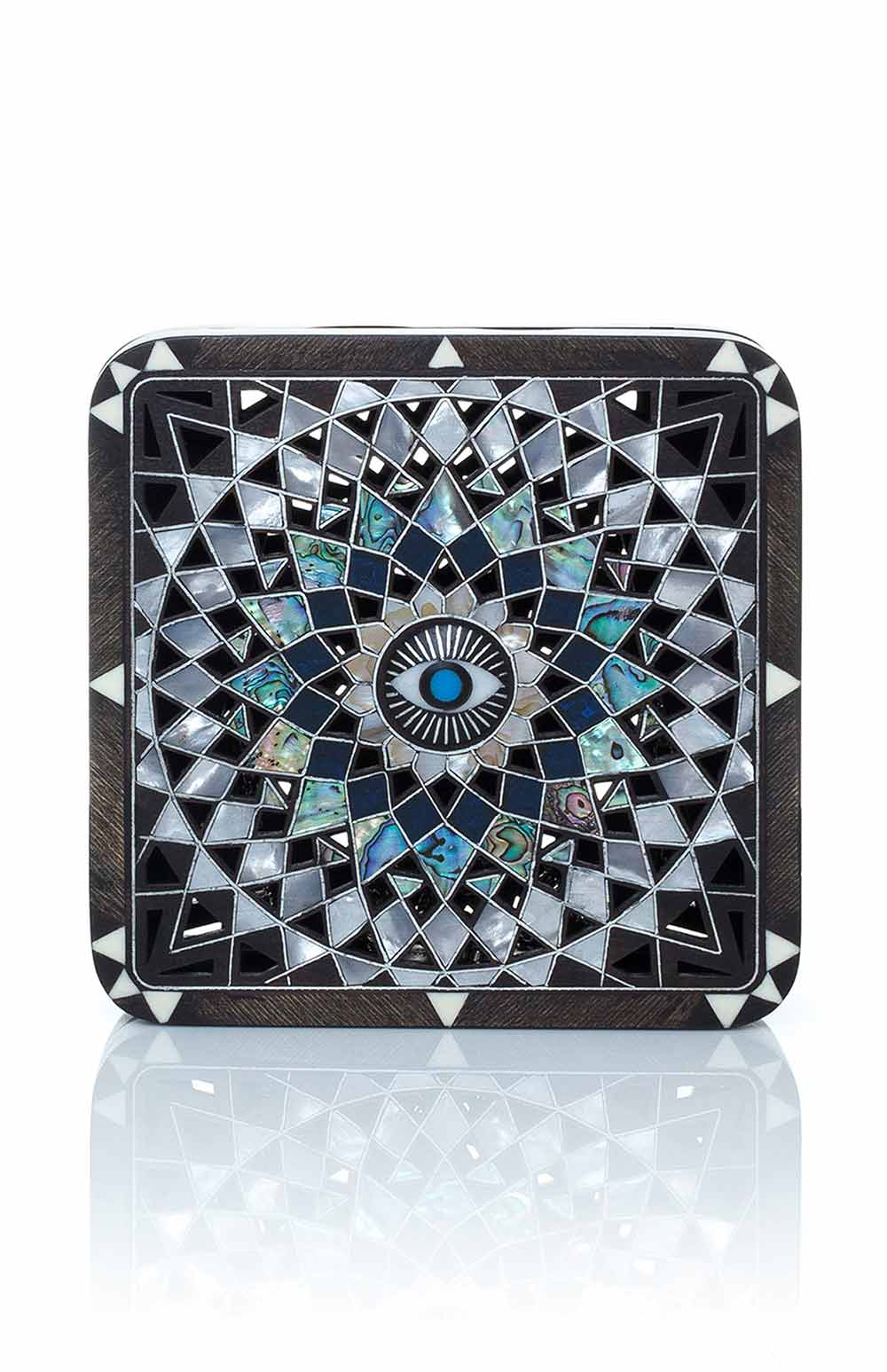 SARAH'S BAG MANDALA RADIANT BLACK